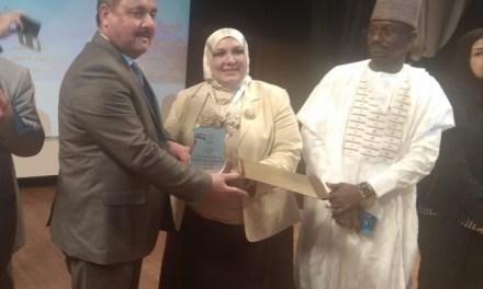 جامعة الحمدانية تشارك بمؤتمر بجامعة قناة السويس بمصر العربية