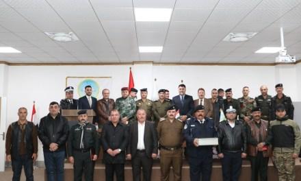 جامعة الحمدانية تكرم قواتنا الأمنية البطلة