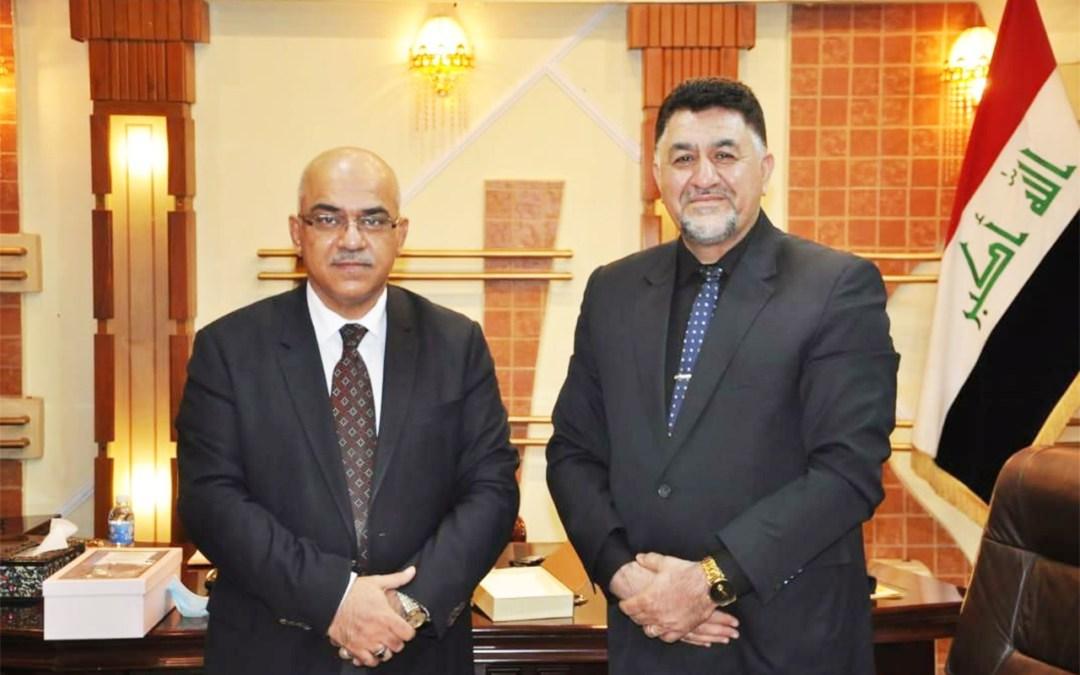 جامعة الحمدانية في ضيافة معالي وزير التعليم العالي والبحث العلمي
