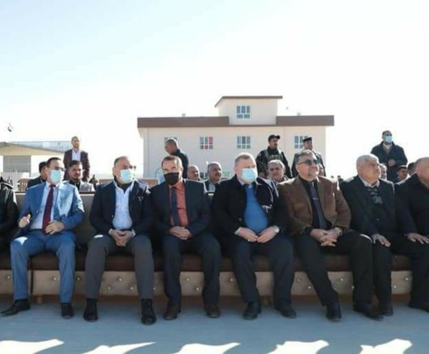 بحضور معالي وزير الصناعة جامعة الحمدانية تحضر إفتتاحية معمل المنتجات الاسفلتية في محافظة نينوى