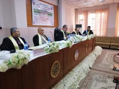 مدير ضمان الجودة رئيسا للجنة مناقشة في جامعة الموصل