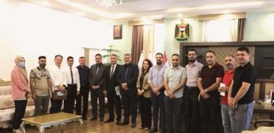 الأعرجي يلتقي بمديري الأقسام والشعب التابعة لمكتب الرئاسة