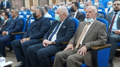 السيد رئيس الجامعة يلبي الدعوة الكريمة من قبل جامعة نينوى لحضور مؤتمرها الدولي الطبي الأول