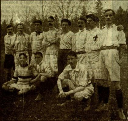 Il Florence Foot-Ball Club nel 1909