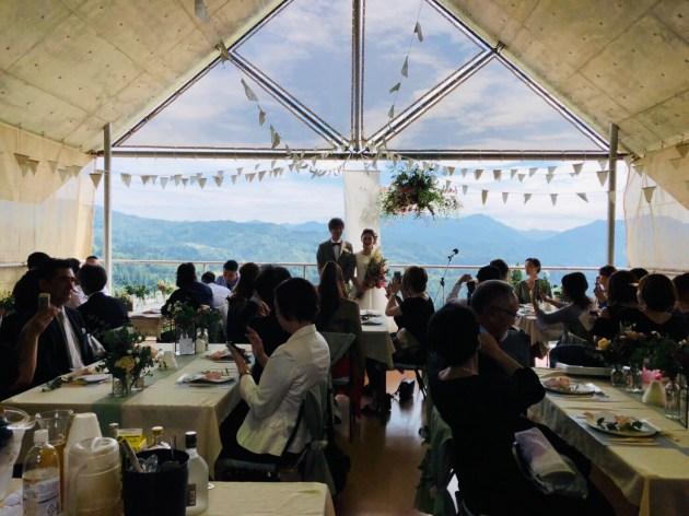 地域活性委員会事業『風薫る結婚式』