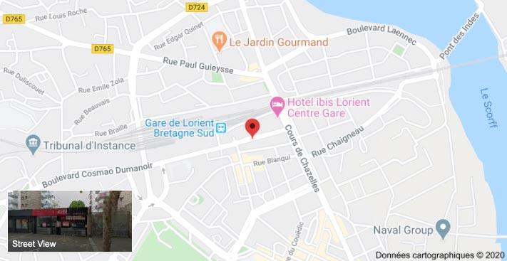 Plan de Lorient
