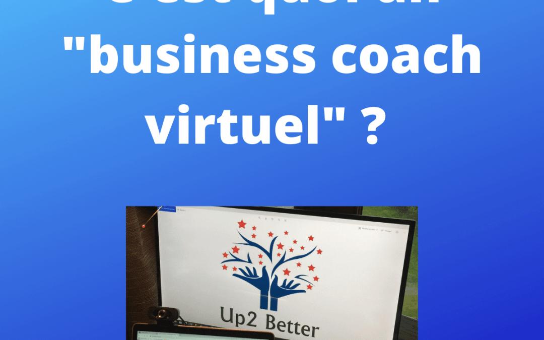 Un business coach virtuel c'est quoi ?