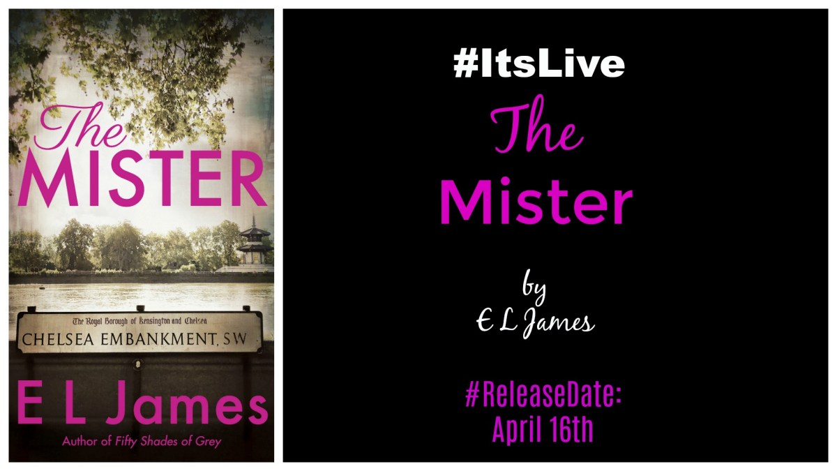 #GuiltyPleasure #AnticipatedRead ~~ The Mister by@E_L_James