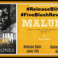 #ReleaseBlitz #Review ~~ Malum: Part 2 (The Elite King's Club book 5) b@amojoneswrites