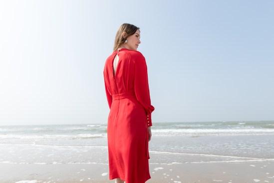 Robe ALEGRA de Catalina J, designeuse belge disponible sur l'eshop 100% belge Up & Down Hill