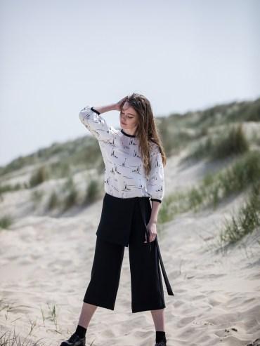 Sara Blouse de CATALINA J sur Upandownhill.com l'eshop 100% belge