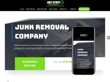 Junk Removal Web Design