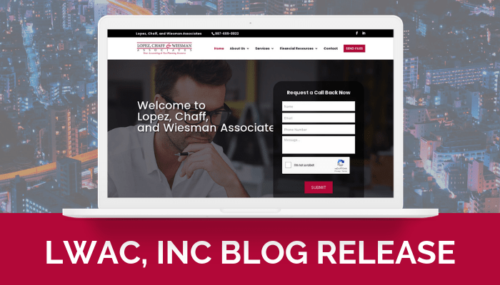 LWAC, INC Site Launch