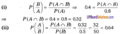 Probability Class 12 Notes In Hindi UP Board Solutions Maths Chapter 13