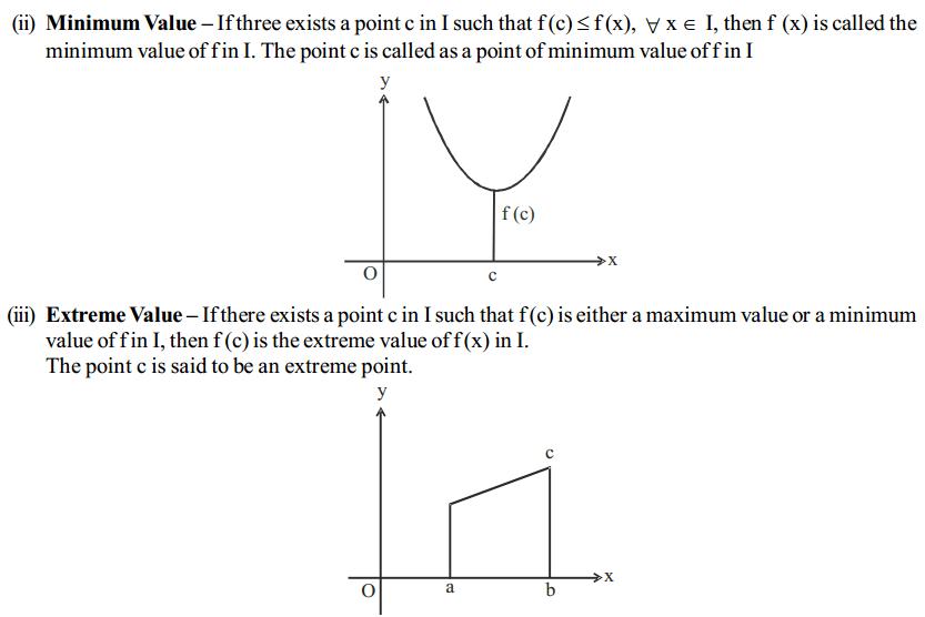 Application of Derivatives Formulas for Class 12 Q3