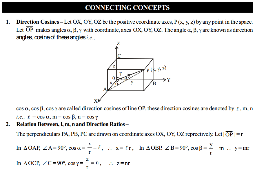 Vector Algebra Formulas for Class 12 Q9