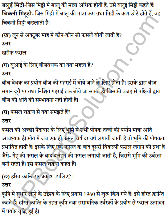 UP Board Class 8 Science Solutions Chapter 10 फसल उत्पादन 3