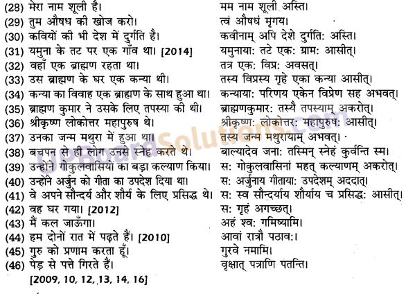 UP Board Solutions for Class 10 Hindi हिन्दी-संस्कृत अनुवाद img-25