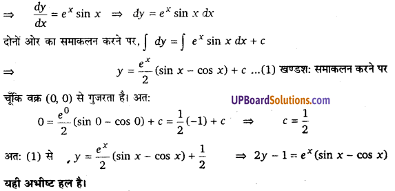 UP Board Solutions for Class 12 Maths Chapter 9 Differential Equations image 63