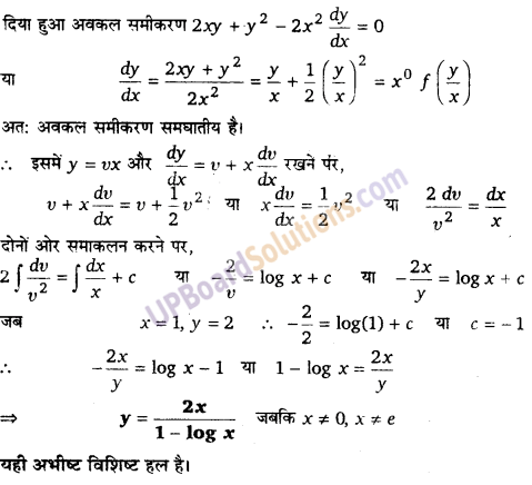 UP Board Solutions for Class 12 Maths Chapter 9 Differential Equations image 102