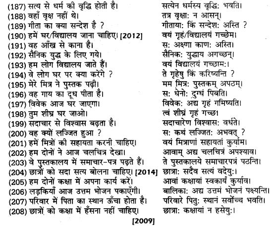UP Board Solutions for Class 10 Hindi हिन्दी-संस्कृत अनुवाद img-5