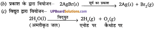 Class 10 Science Solution UP Board Chapter 1 Chemical Reactions And Equations