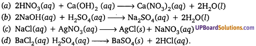 UP Board Solution Class 10th Science Chapter 1 Chemical Reactions And Equations