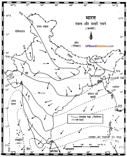 UP Board Solutions for Class 11Geography Indian Physical Environment Chapter 7 Natural Hazards and Disasters (प्राकृतिक संकट तथा आपदाएँ) img 13