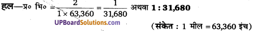 UP Board Solutions for Class 11Geography Practical Work in Geography Chapter 2 Map Scale(मानचित्र मापनी) img 5