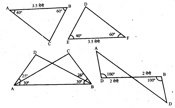 UP Board Solutions for Class 6 Maths Chapter 13त्रिभुज 13d 1