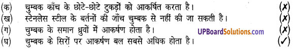 UP Board Solutions for Class 8 Science Chapter 14चुम्बकत्व img-1