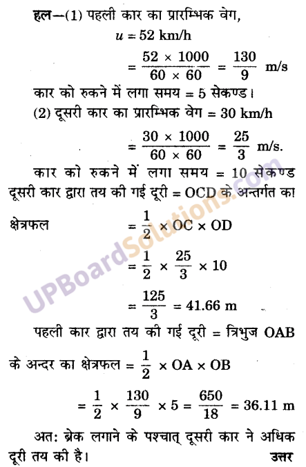 UP Board Solutions for Class 9 Science Chapter 8 Motion image -13