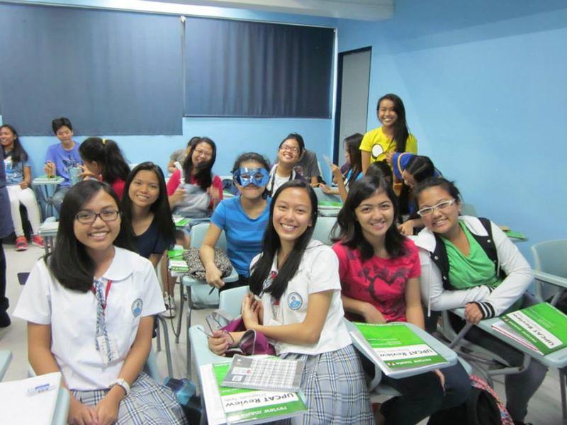 upcat review naga lovely students