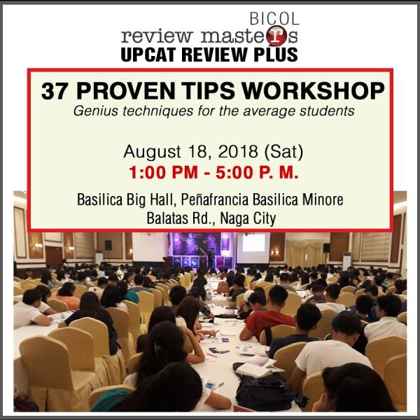 37 proven tiops workshop naga city bicol