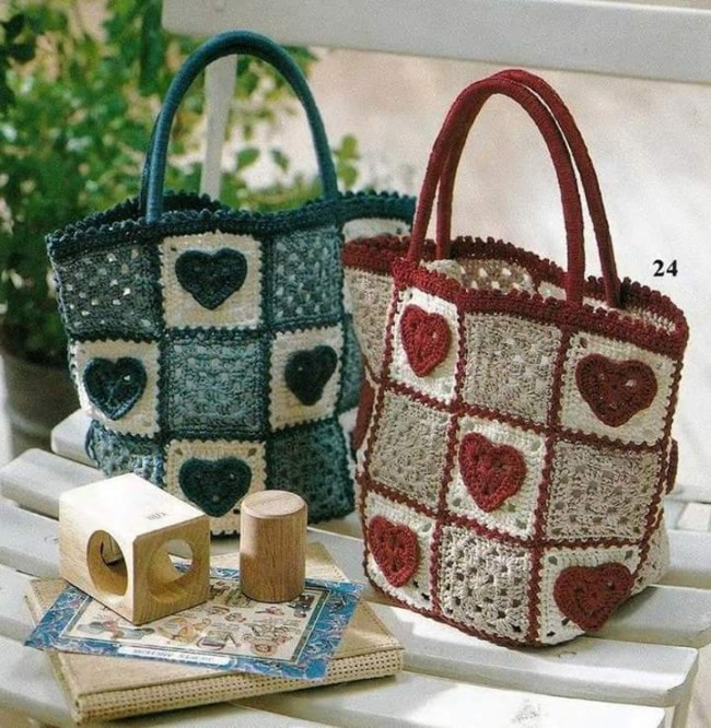 Crochet Bags Inspirations