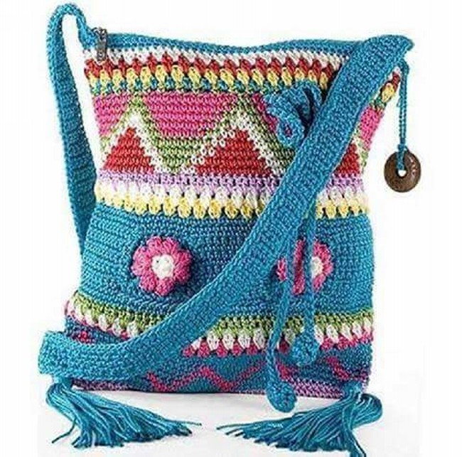 Crochet Hang Bag Pattern
