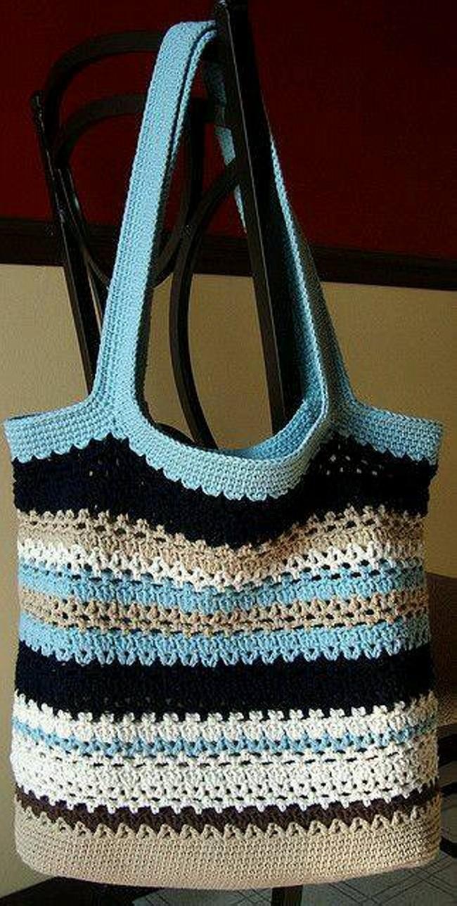 Crochet Hang Bag Patterns