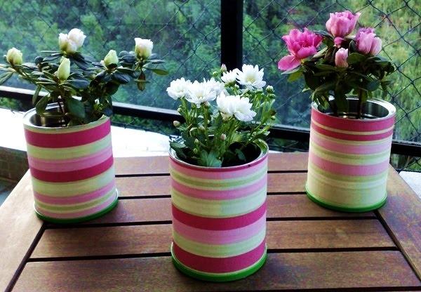 Garden World Diy Flower Pot Art Covered With