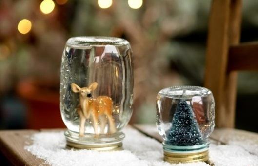 Glass Jar Christmas Crafts 17 Homemade Inspirations