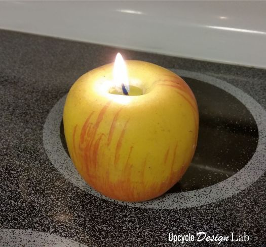 Wax Apple Candle