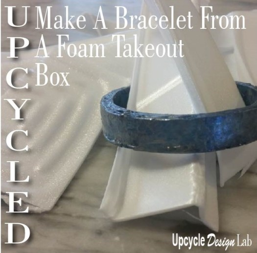 Foam Takeout Box Bracelet