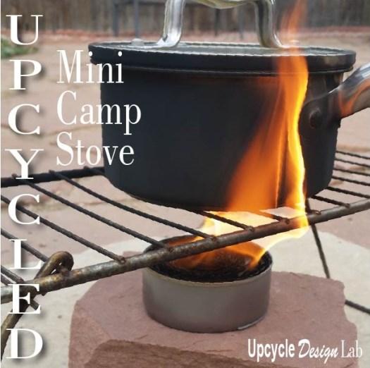 Mini Camp Stove DIY