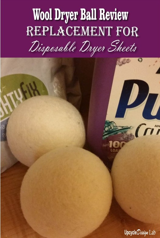 Review of Wool Dryer Balls - Replacement for disposable dryer sheets
