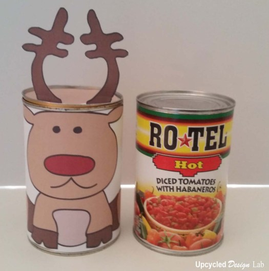 Tin Can Christmas Nesting Dolls