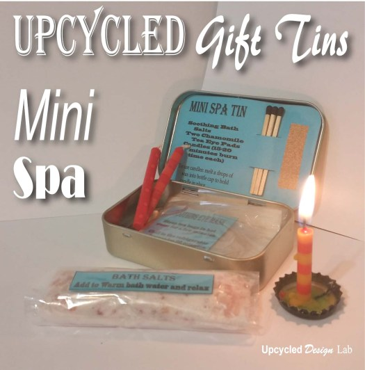 Mini Spa in a tin