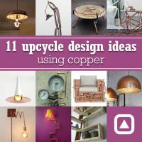 11 upcycle design ideas using copper