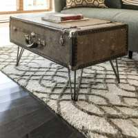 DIY: Suitcase Coffee Table by Dylan Eastman