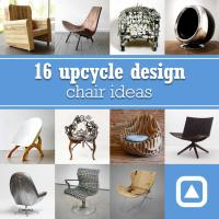 16 upcycle design chair ideas