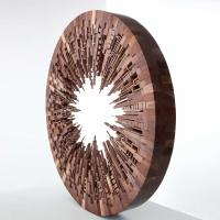 CITY SERIES: scrap wood cityscapes by James McNabb