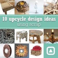 10 upcycle design ideas using scrap